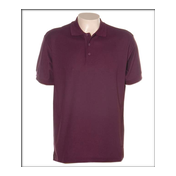 T-shirt Polo Maroon