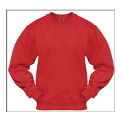 Sweatshirt: Red